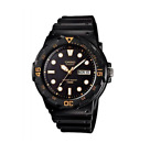 Casio MRW-200H-1E Black Resin Strap Watch For Men