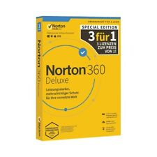 EPE Norton 360 Deluxe 25GB 1 User 3 Dev. 12 Mo. Lim.  Edit. KEIN ABO Download