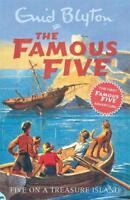 Five on a Treasure Island (Famous Five), Enid Blyton, New, Book