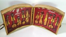 VINTAGE VIETNAM MINIATURE Music String Instrument Replicas in Double Shadow Box