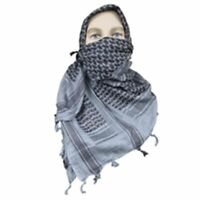 "5ive Star Gear Soft and Breathable 100% Cotton Weave Desert Scarf - 42"" x 42"""