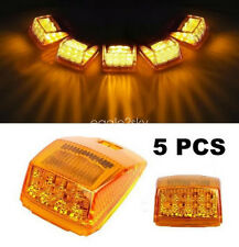 5x17 LED Amber Lens Roof Running Top Clearance Light Assembly for Kenworth