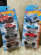 2020 Hot Wheels LAND ROVER DEFENDER 90 SERIES III PICKUP, 15  DEFENDER DOUBLECAB
