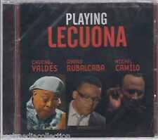 SEALED - Playing Lecuona CD Chucho Valdes,Gonzalo Rubalcaba BRAND NEW