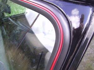 Classic Mini Windscreen Windshield Rear Screen Insert Trim In RED