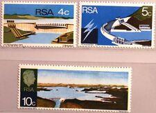 RSA SÜDAFRIKA SOUTH AFRICA 1972 409-11 Verwoerd Staudamm Damm Schleuse MNH