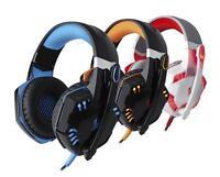 HOT G2000 Game Headphone Headset Stereo Over-ear Earphone Headband Mic for PC