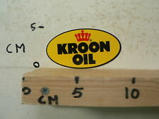 STICKER,DECAL KROON OIL 10 CM