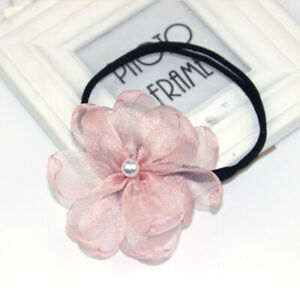 Lazy Handmade Flower Clip Hair Bun Maker Headband Accessories Flower Hairpin