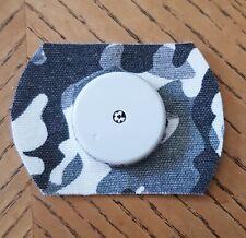 6x Freestyle Libre Patches - grey camo