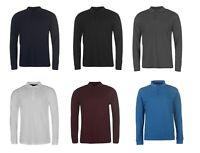 Pierre Cardin Long Sleeve Cotton Polo Shirt Jumper Sweater S M L XL 2XL 3XL 4XL