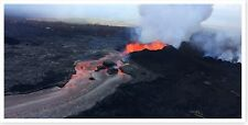 Kilauea Volcano Lower East Rift Zone Fissure 8 Eruption Lava Channel 8x16 Photo