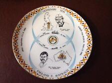 Vintage Coalport Collectors Plate England v Australia Centenary Test 1980