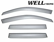 WellVisors Clip On Style Smoke Side Window Visors For 03-06 Mitsubishi Outlander