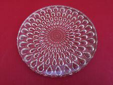 Dessous de plat cristal Baccarat goutte d'eau diamètre 23 cms
