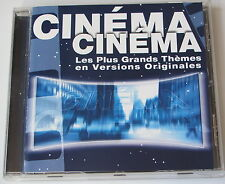 CINEMA CINEMA les plus grands themes en versions originales . CD