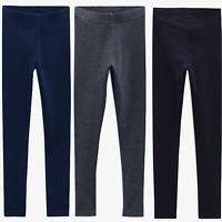 EX-NEXT Kids Girls Stretch Cotton Blend Basic Leggings Trouser Pants,4 to 16 YRS