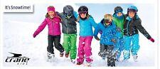 CRANE KIDS Kinder Jungend Skihose Schnee/Snowboardhose Latzhose TOP-ANGEBOT !!