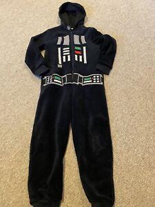 Black Darth Vader Star Wars All in One Fleece 7 Years