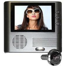 Spioncino digitale occhiello per porta monitor display lcd telecamera occhio new