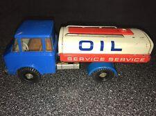 Vintage German Tin Friction Toy Oil Service Tank Truck Gasoline Fuel Tanker