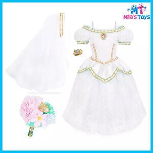Disney Ariel Wedding Costume Set – The Little Mermaid (Size 4 up to 104cms)