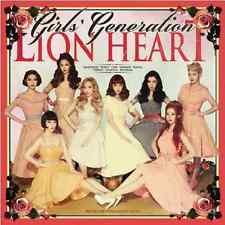 "K-POP SNSD GIRLS' GENERATION 5TH ALBUM "" LION HEART "" [ PHOTO BOOK + CD ]"