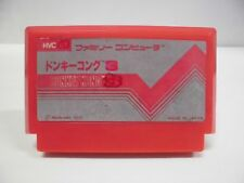 NES -- DONKEY KONG -- Famicom. Action. Japan game. Work fully. 10401