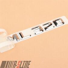 Fit For Mercedes M-Class ML 320 Chrome Trim Rear Trunk Lid Sticker Badge Emblem