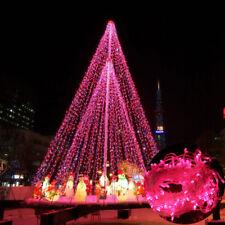 10M 100 LED Christmas Fairy String Light Wedding Xmas Party Outdoor Decor Lamp