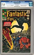 Fantastic Four #52 CGC 7.0 (OW) 1st Appearance of the Black Panther