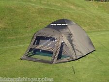 2 Man Double Skin NGT Green Carp Fishing Bivvy Tent Shelter Waterproof Coarse