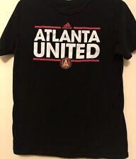 Addidas Atlanta United Youth Tee Black 14/16 Unisex Large (L)