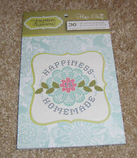 Anna Griffin Hope Chest Collection ~ Vellum Quote Stickers