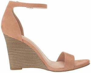 Madden Girl Womens Willow Leather Peep Toe Casual Ankle Strap Sandals
