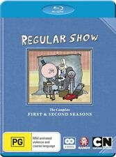 Regular Show : Season 1-2 (Blu-ray, 2013, 2-Disc Set) BRAND NEW REGION B