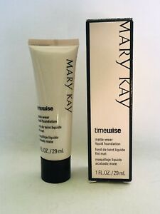 Mary Kay TimeWise Matte Wear Liquid Foundation BEIGE 7 Combo to Oily Skin
