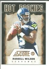 2012 Panini Score #22 RUSSELL WILSON Seattle Seahawks Hot Rookies Football Card