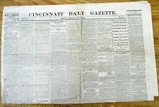 1865 Civil War newspaper Blacks Celebrate TheirFreedom CHARLESTON South Carolina