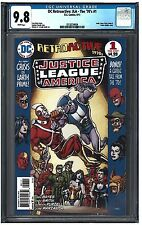 DC Retroactive: JLA-The '70's #1 CGC 9.8 (9/11) DC white pages