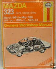 HAYNES MANUAL MAZDA 323 FWD 1033