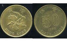 HONG KONG  50 cents 1998   ( bis )