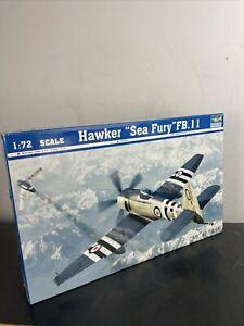 Trumpeter 1/72 Model Kit 01631 Hawker Sea Fury FB.11