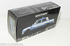MINICHAMPS ALFA ROMEO GIULIA SUPER POLIZIA ORIGINAL EMPTY BOX EXCELLENT COND.