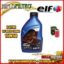 KIT TAGLIANDO 2LT OLIO ELF MOTO 4 ROAD 15W50 KTM 690 Enduro 1st Oil Filter 690CC