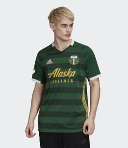 Adidas PORTLAND TIMBERS HOME AUTHENTIC JERSEY Men's Size Small