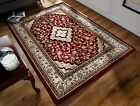 OTTOMAN TEMPLE ORIENTAL QUALITY TRADITIONAL HAND CARVED THICK RED RUG RUNNER