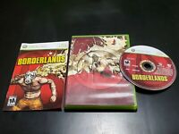 Borderlands (Microsoft Xbox 360, 2009) COMPLETE! TESTED! FREE SHIPPING!