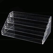 4 Tier Makeup Nail Polish Display Stand Organizer Holder Rack Acrylic Storage US