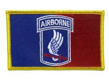 U.S. Military 173rd Army Airborne Flag Iron On Patch